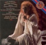 STRAUSS - Marton - Vier letzte Lieder (Quatre derniers lieder), pour sop