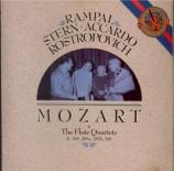 MOZART - Rampal - Quatuor pour flûte et cordes n°1 en ré majeur K.285
