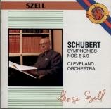 SCHUBERT - Szell - Symphonie n°8 en si mineur D.759 'Inachevée'
