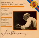 STRAVINSKY - Stravinsky - Symphonie en trois mouvements, pour orchestre