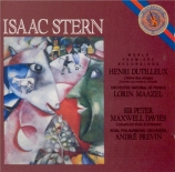 DUTILLEUX - Stern - Concerto pour violon 'L'arbre des songes'