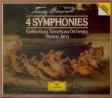 BERWALD - Järvi - Symphonies (4)