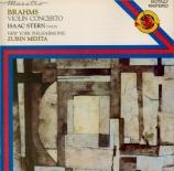 BRAHMS - Stern - Concerto pour violon et orchestre en ré majeur op.77