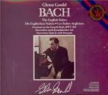 BACH - Gould - Suite anglaise n°1, pour clavier en la majeur BWV.806