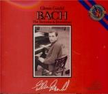 BACH - Gould - Toccata pour clavier en fa dièse mineur BWV.910