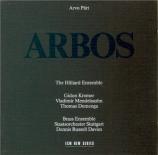 PÄRT - Russell Davies - Arbos