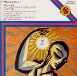 BRAHMS - Walter - Rhapsodie (Goethe), mélodie pour alto et chœur masculi