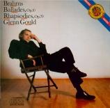 BRAHMS - Gould - Quatre ballades pour piano op.10 'Edward'
