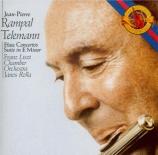 TELEMANN - Rampal - Concerto pour flûte traversière, cordes et basse con