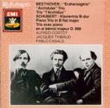 BEETHOVEN - Cortot - Trio avec piano op.97 'L'archiduc'