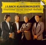BACH - Eschenbach - Concerto pour quatre clavecins et cordes en la mineu