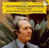 FRANCK - Giulini - Symphonie pour orchestre enrémineur FWV.48