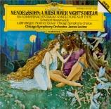 MENDELSSOHN-BARTHOLDY - Levine - Ein Sommernachtstraum (Le songe d'une n