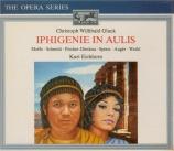 GLUCK - Eichhorn - Iphigénie en Aulide