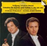 MOZART - Perlman - Sonate pour violon et piano n°17 en do majeur K.296