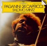 PAGANINI - Mintz - Vingt-quatre caprices pour violon op.1 MS.25