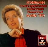 SCHUMANN - Tipo - Kinderszenen (Scènes d'enfants), treize pièces pour pi