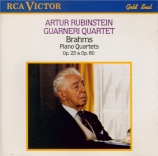BRAHMS - Rubinstein - Quatuor avec piano n°1 en sol mineur op.25