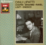 CHOPIN - Lipatti - Sonate pour piano n°3 en si mineur op.58