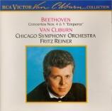 BEETHOVEN - Cliburn - Concerto pour piano n°4 en sol majeur op.58