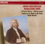 BACH - Marriner - L'offrande musicale(Musikalisches Opfer), pour flûte