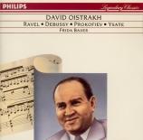 DEBUSSY - Oistrakh - Sonate pour violon et piano en sol mineur L.140