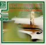 SCHUBERT - Quatuor Sine No - Quatuor à cordes n°13 en la mineur op.29 D
