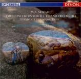 MOZART - Adorjan - Concerto pour flûte et orchestre n°1 en sol majeur K import Japon