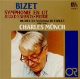 BIZET - Munch - Symphonie pour orchestre en ut majeur (1855) WD.33