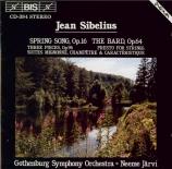 SIBELIUS - Järvi - Vårsång (Chanson du printemps), pour orchestre op.16