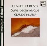 DEBUSSY - Helffer - Children's corner, petite suite de six pièces pour p