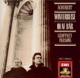 SCHUBERT - Bär - Winterreise (Le voyage d'hiver) (Müller), cycle de mélo