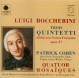 BOCCHERINI - Quatuor Mosaïqu - Quintette pour piano, deux violons, alto