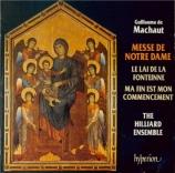 MACHAUT - Hillier - Messe de Notre-Dame
