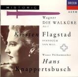 WAGNER - Knappertsbusch - Die Walküre WWV.86b : acte 1
