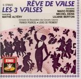 STRAUS - Altery - Trois Valses (Les) : extraits