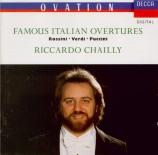 Famous Italian Opera Ouvertures