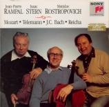 MOZART - Rampal - Cinq divertimenti (sérénades) pour deux clarinettes (o