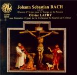 Oeuvre d'orgue pour le temps de la Passion