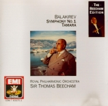 BALAKIREV - Beecham - Symphonie n°1