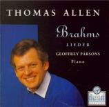 BRAHMS - Allen - Wir wandelten (anonyme - Daumer), mélodie pour une voix e