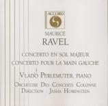 RAVEL - Perlemuter - Concerto pour piano et orchestre en sol majeur