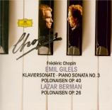CHOPIN - Gilels - Sonate pour piano n°3 en si mineur op.58