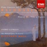RACHMANINOV - Gavrilov - Concerto pour piano n°2 en ut mineur op.18