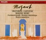 Oratorios, Cantatas, Masonic Music Vol.22