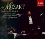 MOZART - Barenboim - Symphonie n°29 en la majeur K.201 (K6.186a)