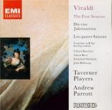 VIVALDI - Parrott - Concerto pour quatre violons, cordes et b.c. en si b