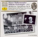 BEETHOVEN - Furtwängler - Symphonie n°9 op.125 'Ode à la joie' live Wien 30 - 5 - 53