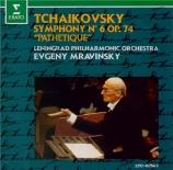 TCHAIKOVSKY - Mravinsky - Symphonie n°6 en si mineur op.74