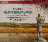 BACH - Schreier - Quatre suites pour orchestre BWV 1066-1069